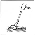 DUCKBILL DB-40 EARTH ANCHOR STAKE DRIVER