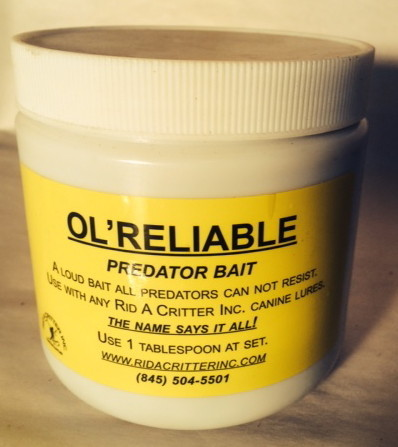 RID A CRITTER, INC. OL' RELIABLE PREDATOR BAIT