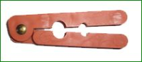 2-HOLE PLASTIC TAIL SPLITTER