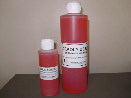 DEADLY DESSERT-LIQUID RACCOON LURE/BAIT